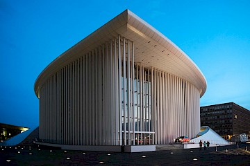 Philharmonie Luxembourg, also called Grande-Duchesse Joséphine-Charlotte Concert Hall, Luxembourg (funnily enough)