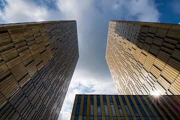 The European Court of Justice, Luxembourg. Or the Dunhill Twins as I call them.